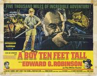 A Boy Ten Feet Tall - 22 x 28 Movie Poster - Half Sheet Style A