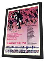 A Bridge Too Far - 11 x 17 Movie Poster - Style B - in Deluxe Wood Frame
