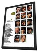 A Bridge Too Far - 27 x 40 Movie Poster - Style A - in Deluxe Wood Frame