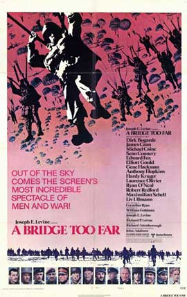 A Bridge Too Far - 11 x 17 Movie Poster - Style B