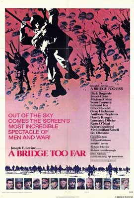A Bridge Too Far - 27 x 40 Movie Poster - Style B