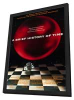 A Brief History of Time - 11 x 17 Movie Poster - Style A - in Deluxe Wood Frame