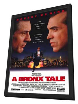 A Bronx Tale - 11 x 17 Movie Poster - Style A - in Deluxe Wood Frame