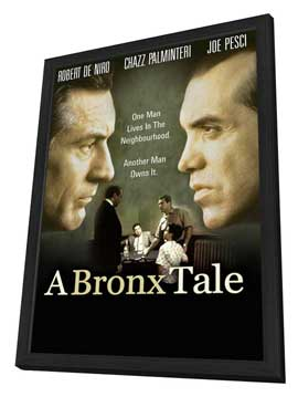 A Bronx Tale - 11 x 17 Movie Poster - Style B - in Deluxe Wood Frame