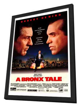 A Bronx Tale - 27 x 40 Movie Poster - Style A - in Deluxe Wood Frame