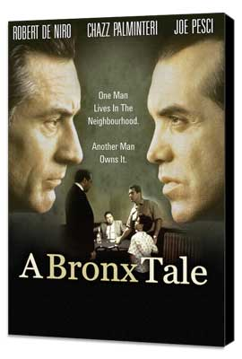 A Bronx Tale - 11 x 17 Movie Poster - Style B - Museum Wrapped Canvas