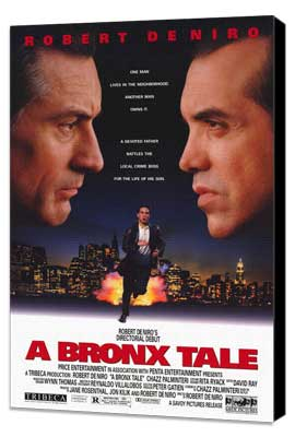 A Bronx Tale - 27 x 40 Movie Poster - Style B - Museum Wrapped Canvas