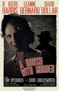 A Brush with Murder - 11 x 17 Movie Poster - Style A