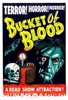 A Bucket of Blood - 27 x 40 Movie Poster - Style C