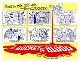 A Bucket of Blood - 11 x 14 Movie Poster - Style A