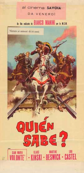 A Bullet for the General - 11 x 17 Movie Poster - Italian Style A