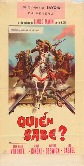 A Bullet for the General - 27 x 40 Movie Poster - Italian Style A