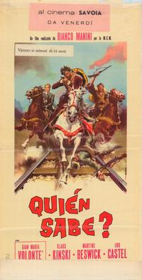 A Bullet for the General - 39 x 55 Movie Poster - Italian Style A