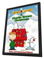 Charlie Brown Christmas, A - 27 x 40 Movie Poster - Style A - in Deluxe Wood Frame