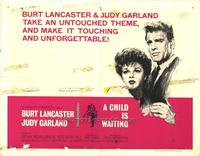 A Child Is Waiting - 27 x 40 Movie Poster - Style B