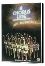 A Chorus Line (Brodway) - 11 x 17 Poster - Style A - Museum Wrapped Canvas
