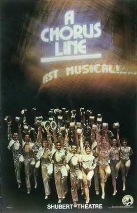 A Chorus Line (Brodway) - 11 x 17 Poster - Style A