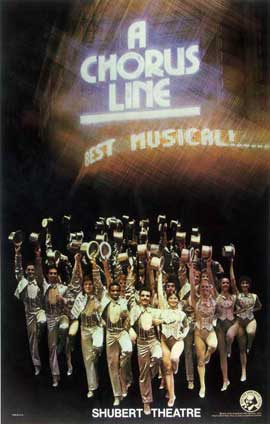 A Chorus Line (Brodway) - 14 x 22 Poster - Style A