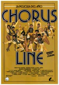 A Chorus Line - 11 x 17 Movie Poster - Argentine Style A