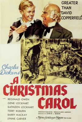 A Christmas Carol - 27 x 40 Movie Poster - Style A