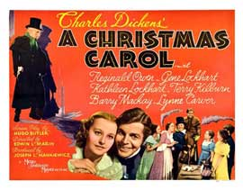 A Christmas Carol - 22 x 28 Movie Poster - Half Sheet Style B
