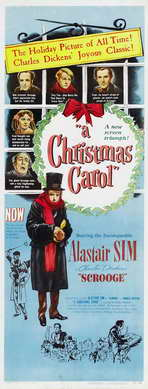 A Christmas Carol - 14 x 36 Movie Poster - Insert Style A