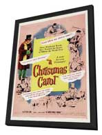 A Christmas Carol - 11 x 17 Movie Poster - Style C - in Deluxe Wood Frame