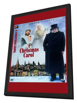 A Christmas Carol - 11 x 17 Movie Poster - Style A - in Deluxe Wood Frame
