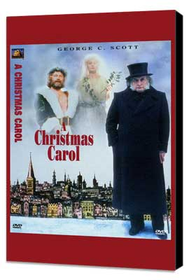 A Christmas Carol - 11 x 17 Movie Poster - Style A - Museum Wrapped Canvas
