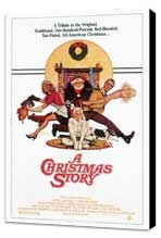 A Christmas Story - 27 x 40 Movie Poster - Style B - Museum Wrapped Canvas