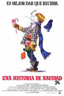 A Christmas Story - 11 x 17 Movie Poster - Spanish Style A