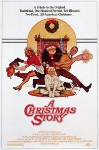 A Christmas Story - 11 x 17 Movie Poster - Style B - Museum Wrapped Canvas