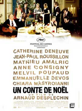 A Christmas Tale - 27 x 40 Movie Poster - French Style A