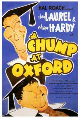 A Chump at Oxford - 27 x 40 Movie Poster - Style A