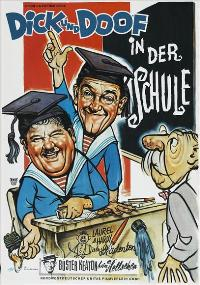 A Chump at Oxford - 27 x 40 Movie Poster - German Style A
