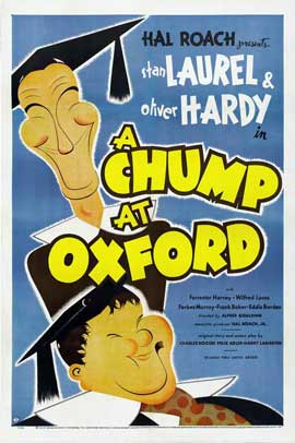 A Chump at Oxford - 11 x 17 Movie Poster - Style B