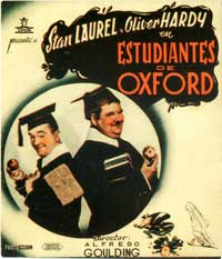 A Chump at Oxford - 11 x 17 Movie Poster - Spanish Style B