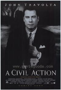 A Civil Action - 43 x 62 Movie Poster - Bus Shelter Style A