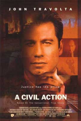 A Civil Action - 11 x 17 Movie Poster - Australian Style A