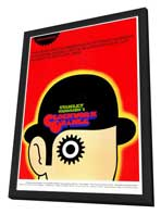 A Clockwork Orange - 27 x 40 Movie Poster - Style B - in Deluxe Wood Frame