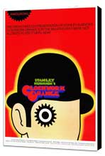 A Clockwork Orange - 27 x 40 Movie Poster - Style B - Museum Wrapped Canvas