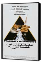 A Clockwork Orange - 14 x 36 Movie Poster - Insert Style A - Museum Wrapped Canvas