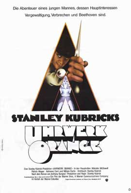 A Clockwork Orange - 11 x 17 Movie Poster - German Style A