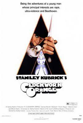 A Clockwork Orange - 27 x 40 Movie Poster - Style A