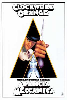 A Clockwork Orange - 27 x 40 Movie Poster - Italian Style A