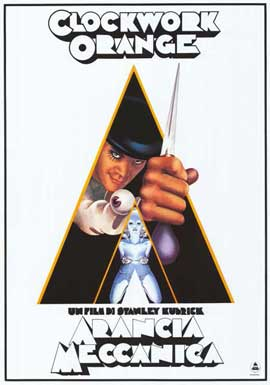 A Clockwork Orange - 11 x 17 Movie Poster - Italian Style A
