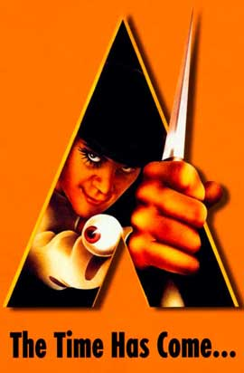 A Clockwork Orange - 11 x 17 Movie Poster - Style E