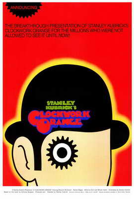 A Clockwork Orange - 27 x 40 Movie Poster - Style B