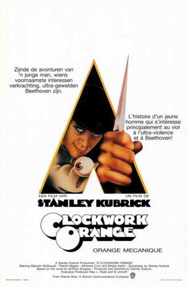 A Clockwork Orange - 11 x 17 Movie Poster - Belgian Style A
