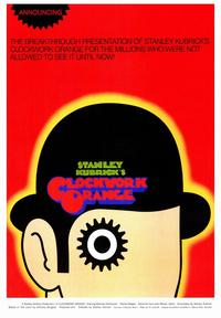 A Clockwork Orange - 43 x 62 Movie Poster - Bus Shelter Style B